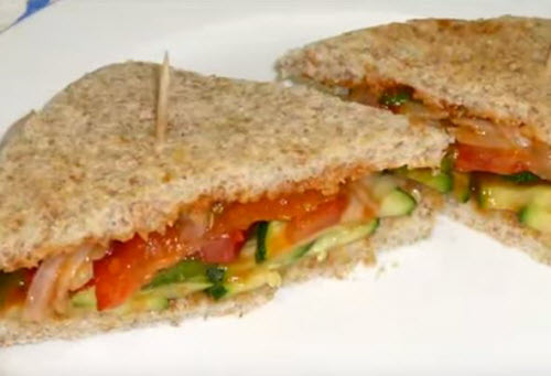 healthy sandwich idea